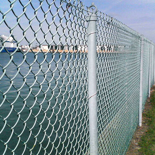 CHAIN LINK FENCING - Tiger Wire Mesh